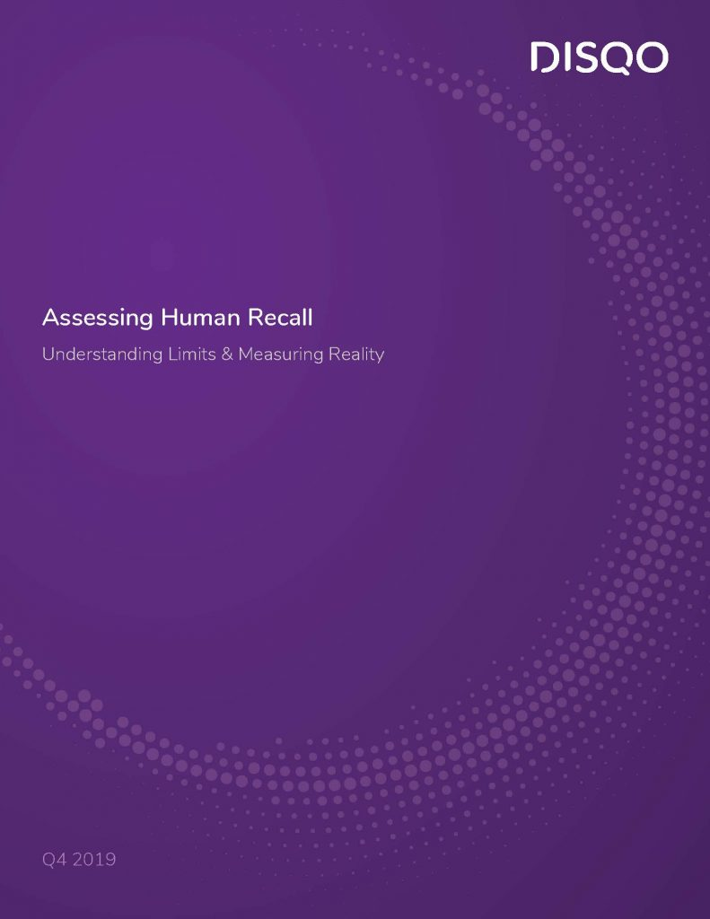 Assessing Human Recall: Understanding Limits & Measuring Reality