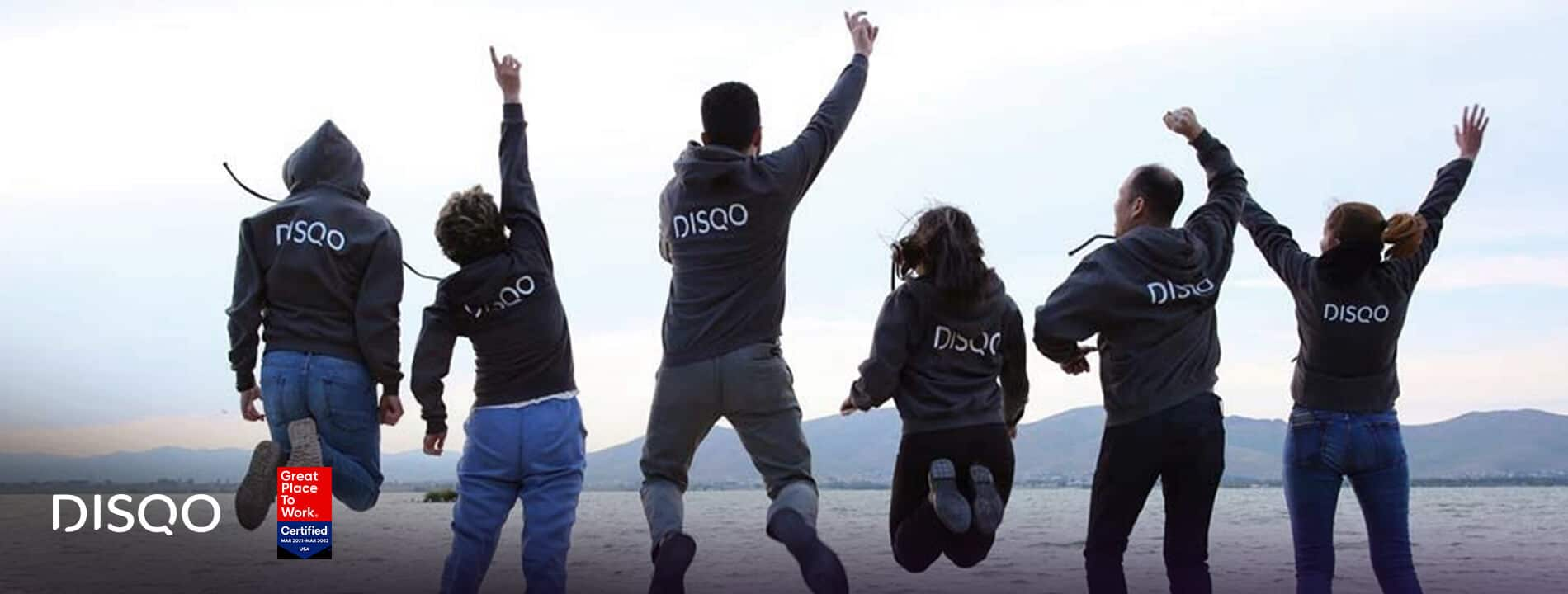 DISQO Certified as Great Place to Work